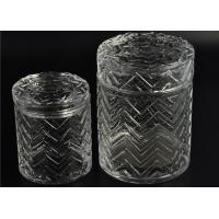 China Modern Tall Glass Candle Holder Glassware Large Capacity 69ml on sale