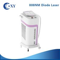 Quality 755nm 1064nm 808NM Micro Channel Diode Laser Hair Removal Machine No Pain for sale