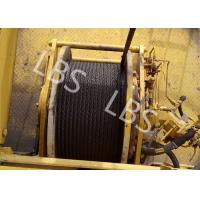 Quality High Strength Steel Lebus Groove Drum Winch Machine For Tower Crane for sale