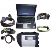 China 2016.07V MB Star Diagnosis Compact C4 SD Connect MB Star C4 With Dell D630 Laptop on sale