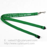 Best Inexpensive Tube lanyard with Swivel J hook, printed polyester tube lanyards wholesale