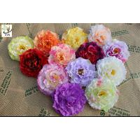 Best UVG diy wedding decorations with colorful silk fabric penoy cheap artificial flowers FPN118 wholesale