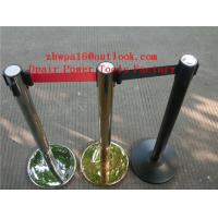 Quality Velvet Rope Stanchion  Cafe Barriers Sign Insert Display Stands for sale