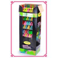 Best Broom Advertising Cardboard shelf display boxes with Handle Set wholesale