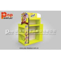 Custom Point Of Sales Black Cardboard Pallet Display For LED Bulbs Promotion