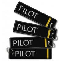 Best Pilot (1bars) keychain Embroidered Keychain wholesale