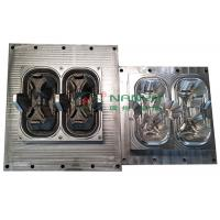 China Die Casting 2 Packed Cup Carrier / Cup Holder Pulp Moulding Dies on sale