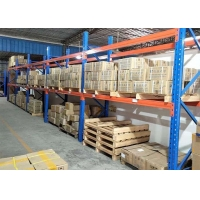 China Anti-rust heavy duty pallet racks industrial pallet shelves for freezer warehouse for sale