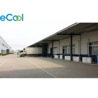 Low Temperature Frozen Food Storage Warehouses , Frozen Beef Processing Chilled Storage