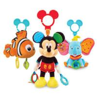 Quality Disney Baby Activity Toy Nemo and Mickey and Dumbo Plush Toys for sale