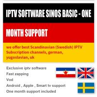 Buy Scandinavian Sweden Android Smart TV Box IPTV Subscription 1000 Live / VOD at wholesale prices
