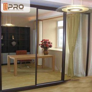 Quality Australia Anti Noise Aluminium Sliding Glass Doors System Customized Size for sale