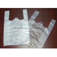 Quality Environmental Protection Custom Printed Plastic Shopping Bags With Handles for sale
