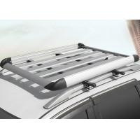 China Universal Auto Roof Racks , Aluminium Alloy Roof Luggage Carrier With Two Handles on sale