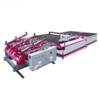 China High Precision Semi Automatic Glass Cutting Machine With Auto Glass Loading / Breaking on sale