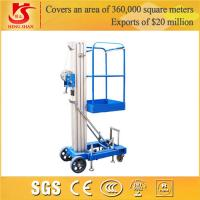 Quality aluminium alloy 2 meter scissor lift with CE ISO BV Certificate for sale