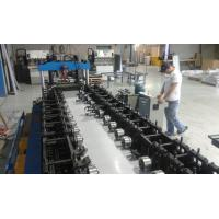China 100mm-275mm Width Galvanized Steel Rack Shelving Shelf  Roll Forming Machine Fully Automatic on sale