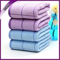 Quality 100% Cotton Checks Stain Bath Towel for Adult for sale