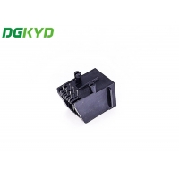 Quality Single Port 180 Degrees RJ45 With LEDTAB-UPRJ45 Network Connection for sale