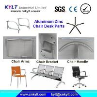 Quality Aluminum/Zinc Alloy Arms/Foot/Bracket Injection Parts for Chairs/Desk/Table for sale