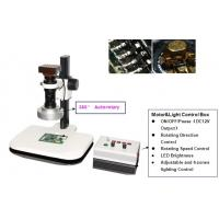 Quality Automatic Rotary 3X - 200X Magnification LED light USB 3D Digital Microscopes / Microscope for sale