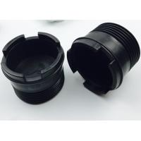 "Quality 3/8"" HT-SLH90 Plastic Thread Protectors , Black Color Oilfield Thread Protectors for sale"