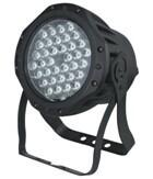 Quality 36pcs*1W3W par lights/outdoor par lights/spotlights/stage effec tlights waterproof IP65 for sale
