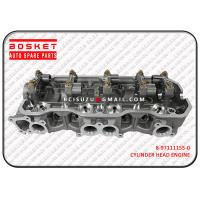 Quality 8-97111155-0 Iron / Aluminum Isuzu Cylinder Head Repair For TFR17 4ZE1 8971111550 for sale