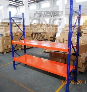 China Customizable Indoor Outdoor Light Duty Metal Shelving , Light Duty Pallet Rack on sale