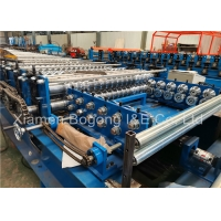 Buy cheap 0.5mm 0.6mm PPGI Corrugated Roof Roll Forming Machine from wholesalers
