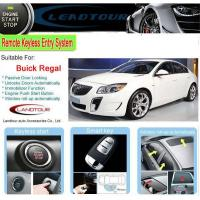 China Car engine start button keyless remote start car alarm system for SGM Buick Regal 2012 popular car d on sale