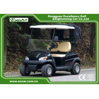 Quality 2 Seater Caddie Plate Electric Car Golf Cart For Mission Hill Golf Club for sale