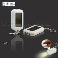 Quality Solar Mini Recyclable Flash Light with Keyring for sale