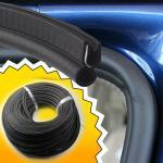 Quality car garage door gasket rubber seal strip upvc shower sliding exterior bottom for sale