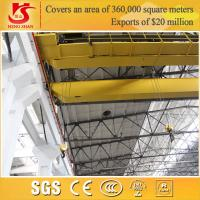 Quality Rail mounted double girder overhead euro crane with competitive price for sale