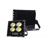 Quality Black Body White 200w Outdoor Led Flood Lights Slim Yard Lawn Compound Lighting for sale