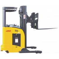 Quality Single Scissor Sit Down Reach Truck Forklift 1.8 Ton Capacity High Speed Lifting for sale