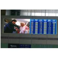 Quality Indoor led display signs , led message boards p10 / p5 / p7.62/  for stadium / stage for sale