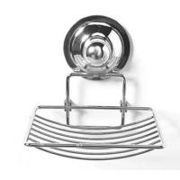 China Chrome Plated Soap Holder with Suction Cup on sale