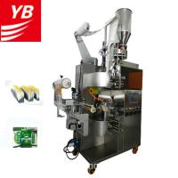 Quality YB-180C Automatic Vertical Automatic Filter Tea Bag Packing Machine with inner and Outer Envelope for sale