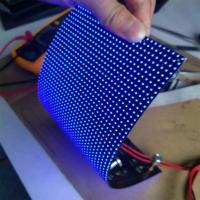 China Soft Flexible led display module With MBI5124 Driving IC and Kinglight Gold Wire on sale