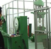 M&E failing load test of suspension insulator