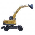 China Digging Depth 3250mm 6300kg Bucket Wheel Excavator for sale