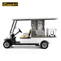 Quality Vehicle Electric Utility Carts Vintage For Adults , Comfortable Battery Operated Golf Buggy for sale