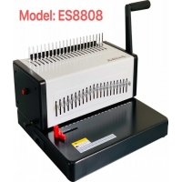 Quality Heavy Duty Manual 500 Sheets A4 Plastic Comb Strip Punch And Binding Machine for sale