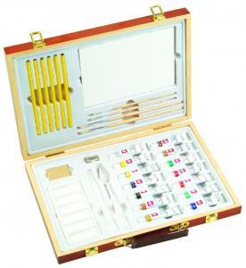 Quality Professional Childrens Art Set Wooden Box , Durable Artist Acrylic Paint Box Set for sale