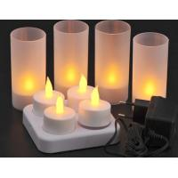 China SPA KTV led candle ,charger candle,4pcs/set,electronic led charging candle on sale