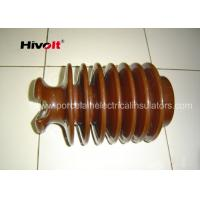 Quality Brown Color Post Type Insulator , Pin Post Insulator OEM Available for sale