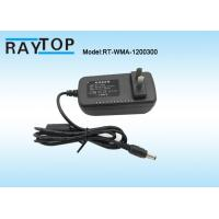 Best High Frequency Wall Mount Power Adapter 12V 3A UK Plug For CCTV Camera wholesale