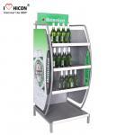 Quality Customized Wine Display Stand Beverage Beer Display Rack Pop Merchandise Displays for sale